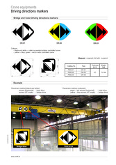 UNILIFT - Driving direction markers
