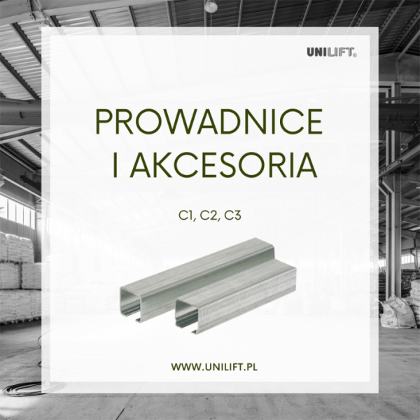 UNILIFT - prowadnice ceowe