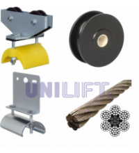 UNILIFT - KL - Accessories and instructions - steel rope track - round cable