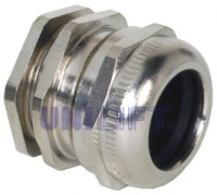 DRK - Cable glands nickel-plated brass for round cables