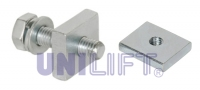 Bolt with square nut M10x30N; Square nut M10-4KT