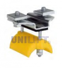 End clamp - SERIES C22P - for flat cables