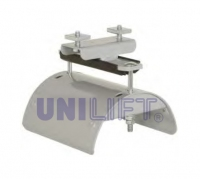End clamp - SERIES C23P - for flat cables