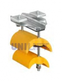 End clamp - SERIES C24P - for flat cables