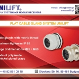 FLAT CABLE GLAND SYSTEM UNILIFT
